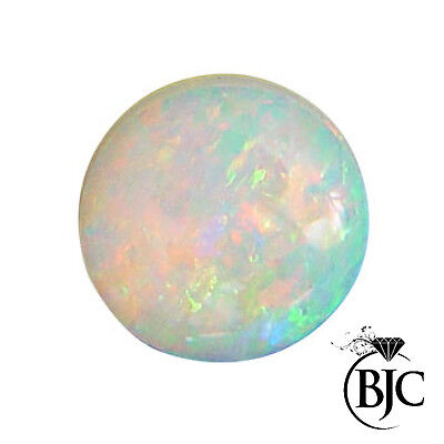 BJC® Loose Cultured Opal  Round Cabbachon Cut Multiple Cultured Opals Stones