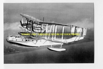 Photograph 6x4 Without Return Rp17085 Vickers Saunders Valentia Flying Boat