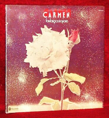 Lp Carmen Fandangos In Space 1974 Abc Orig Pressing Prog Rock Sealed