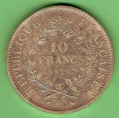 France 1875  Silver 5 Francs  Coin