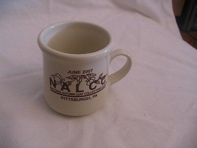JEWEL TEA AUTUMN LEAF 2007 CONVENTION MUG, PITTSBURGH, PA  MINT CONDITION