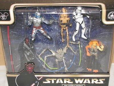 Disney Theme Park Authentic Star Wars Collectible Figures Toy Playset