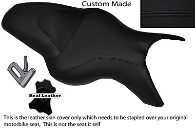 Black Stitch  Custom Fits Bmw K 1200 R 05-08 K 1300 R 09-13 Dual Seat Cover
