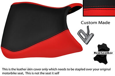 Black & Red Custom Fits Yamaha 1000 Yzf 96-03 Front Thunderace Seat Cover