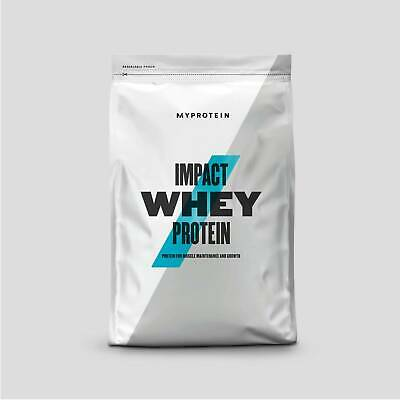 Myprotein: Impact Whey - Whey Protein powder pouch Concentrate 1kg, 2.5kg or 5kg