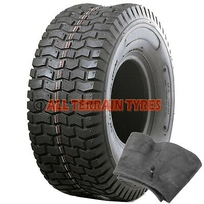13x5.00-6 Turf TYRE & INNER TUBE For Ride On Lawn Mower Garden Tractor 13x500-6