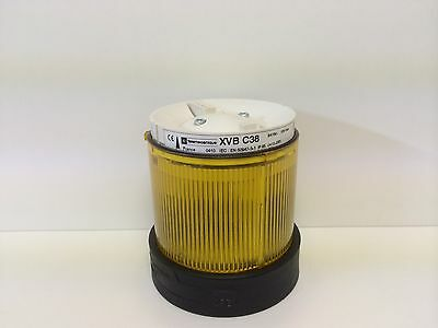 New No Box Telemecanique Yellow Stack Light Xvb-C38 No-Lamp