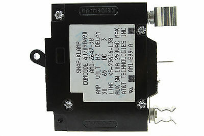 Used Lucent KS-23616-L5 Breaker 20A Clip Style