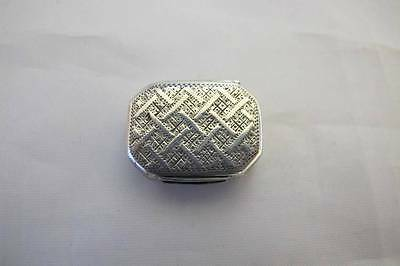 Antique Solid Sterling Silver Vinaigrette Jl Birmingham 1816