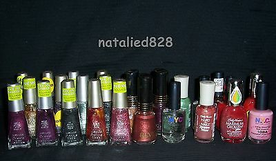Wholesale Lot 25 Nail Polish Sally Hansen Wet 'n Wild