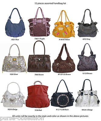 20 Wholesale Faux Leather Multi-Color Cross-Body Messenger Bags – New with Tags