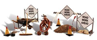 NEW Woodland Scenics Road Crew Detail O A2762