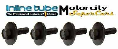 GM CORRECT LOWER FENDER BODY FRONT END HARDWARE BOLT BOLTS  ANCHOR HEAD NOSR 4pc