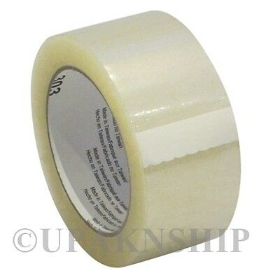 1 Roll Clear Carton Sealing Tape 2 x 110 yard (330 ft) W/ Expedited Shipping!