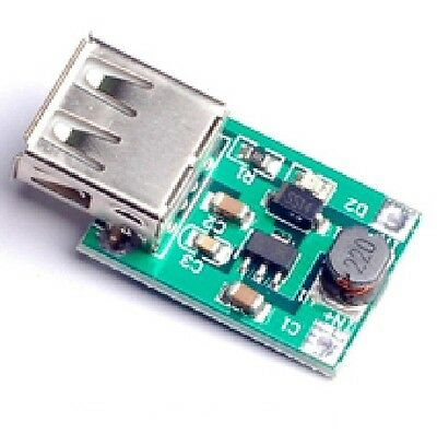 DZ278 1PCS DC-DC Converter Step Up Boost Module 1-5V to 5V 500mA USB Charger for