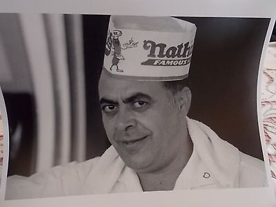 1965 Nathan's Famous Coney Island NYC Brooklyn Photo