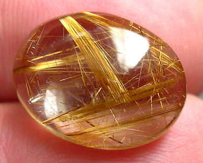Splendide Quartz Rutile Or 14,22 Carats