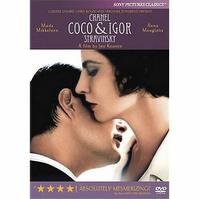 Coco Chanel & Igor Stravinsky (DVD, 2010) - NEW!!