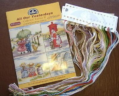 All Our Yesterdays Collectors Edition II Cross Stitch Chart DMC Plus Thread