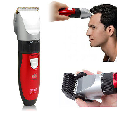 Kids Men's Electric Rechargeable Hair Beard Cut Shaver Trimmer Clipper Grooming