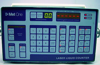 Met One 233 Dual Sensor Laser Liquid Particle Counter, 115V, 60Hz