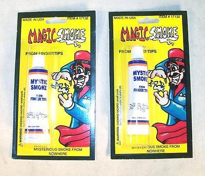 12 MAGICAL MYSTIC SMOKE TUBES magic from your finger tips magician tricks new