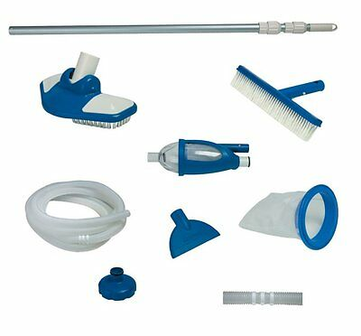 Intex Deluxe Cleaning Maintenance Swimming Pool Kit with Vacuum & Pole | 28003E