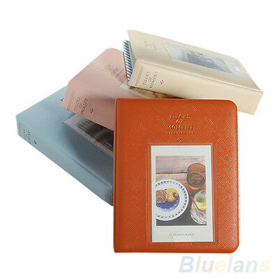 Hot Instax For Polaroid Album Case Photo Storage Mini Film Size 64 Pockets BA8A