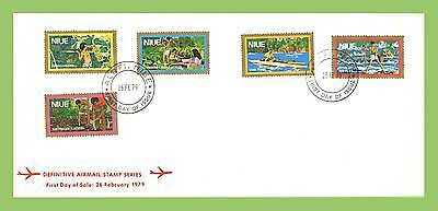 Niue 1979 Definitive Airmail series First Day Cover