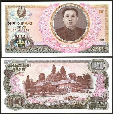 KOREA  100 Won 1978 UNC P 22