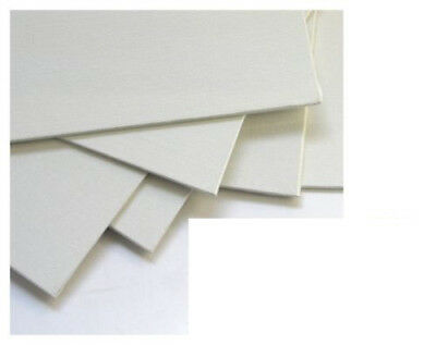 "3 PANORAMIC 10"" X 5"" BLANK LOXLEY CANVAS ACRYLIC PAINTING BOARDS 254mm x 127mm"