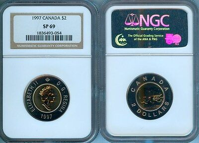 1997 Canada $2   Ngc Sp-69   Finest Graded