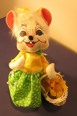 """Annalee 8 """" White Easter  Mouse R$25.00 202413  NWT"""