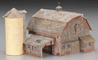 NEW Woodland Scenics HO Old Weathered Barn Built & Ready BR5038