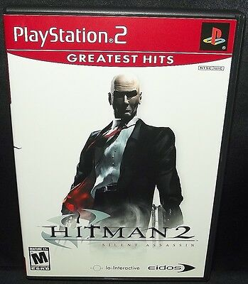 Hitman 2: Silent Assassin for Sony Playstation 2 PS2 GH Greatest Hits