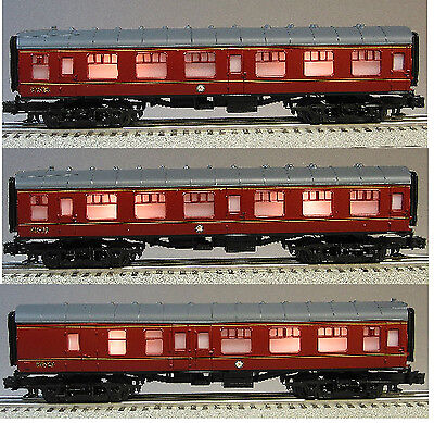 LIONEL HARRY POTTER HOGWARTS 3 COACHES from 7-11020 train passenger  99718 19 20