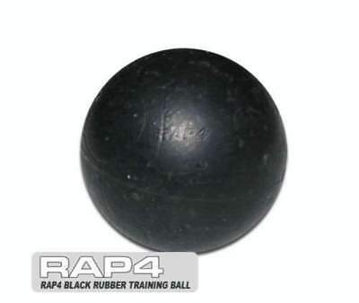 Paintball Black Rubber Training Balls .68 caliber (Bag of 500) [DH4]