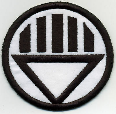 """2.5"""" Black Lantern Corps Classic Style Embroidered Patch"""