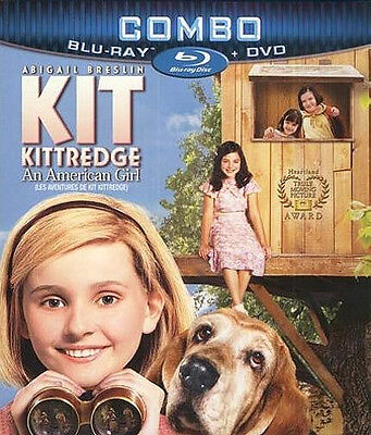 Kit Kittredge: An American Girl (Blu-ray + DVD)  Abigail Breslin  NEW