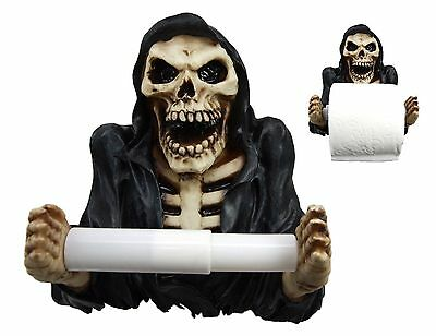 Merciless Grasp Of A Grim Reaper Resin Toilet Paper Holder Awesome Home Decor