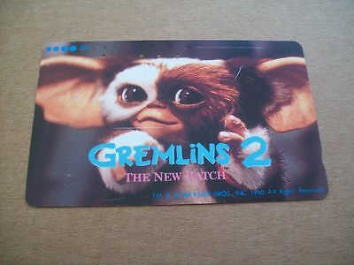 Gremlins 2 On Used Phonecard From Japan (15 Mar 2)