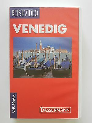 VHS Video Reisevideo Venedig Bassermann