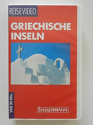 VHS Video Reisevideo Griechische Inseln Bassermann