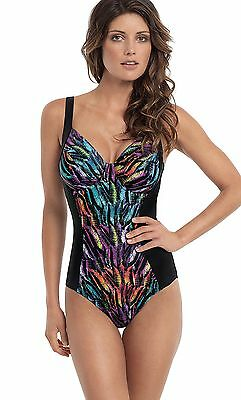 "Panache ""Tallulah"" SWIMSUIT in Feather Print"