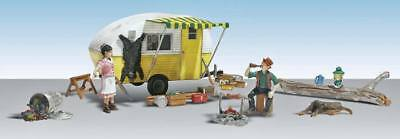 NEW Woodland Scenics Ma & Pa Trailer Haven N AS5341