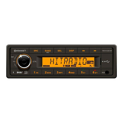 Continental TRD7412UB-OR 12V Autoradio mit DAB+ AM/FM RDS USB MP3 - ohne CD Lauf