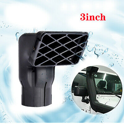 """Replacement Mudding Snorkel Head Air Intake Ram 3"""" inlet for off road / farm use"""