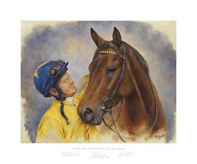 Sea The Stars & M Kinane Quality Fine Art Picture Print Horse Racing John Oxx