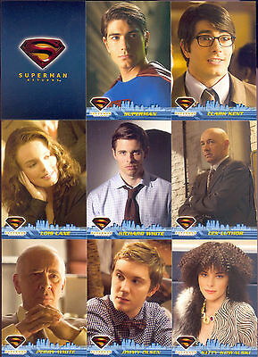 SUPERMAN RETURNS MOVIE 2006 TOPPS COMPLETE BASE CARD SET OF 90