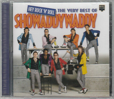 SHOWADDYWADDY Hey Rock 'N' Roll The Very Best Of. 1999 24-track CD BRAND NEW